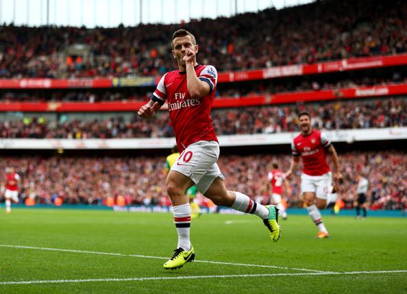 Jack+Wilshere+Arsenal+v+Norwich+City+Premier+-H1PFC0YX7_l